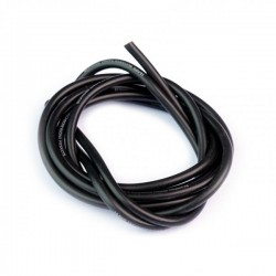 Muchmore Super Flexible High Current Silicon Wire 16 AWg Black 100cm