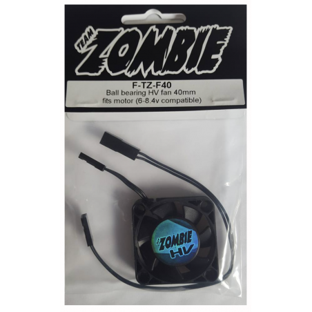 Team Zombie 40mm HV Fan (6-8.4v compatible)