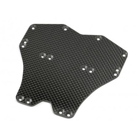 Infinity Graphite Main Chassis Plate