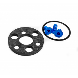 1UP RACING TC7.2 CENTER PULLEY & SPUR PLATE SET
