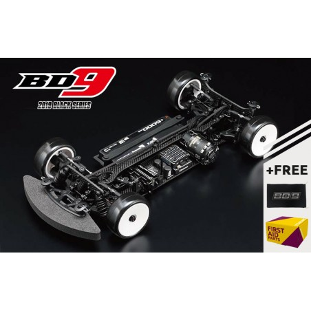 Yokomo BD9 Touring Car Kit - Carbonio