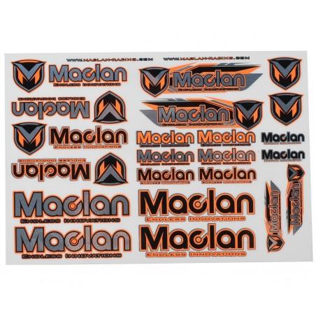 Maclan Racing Decal