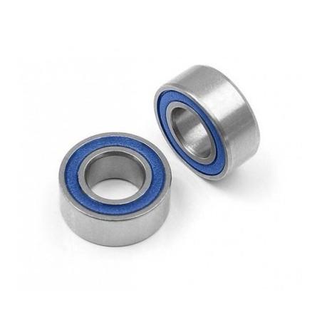 5x10x4 mm cuscinetti olio (rubber shield) 4pz