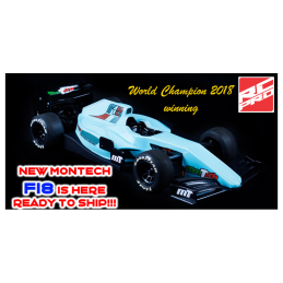 Mon-Tech Racing F18 carrozzeria Formula 1 1/10 190mm