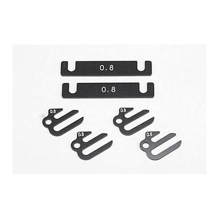 BD9/BD8/BD7 Aluminum Suspention Mount Spacer (0.8mm)
