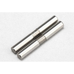 BD9 Front 3mm Outer Suspension Arm Pin (Stepped·2pcs)