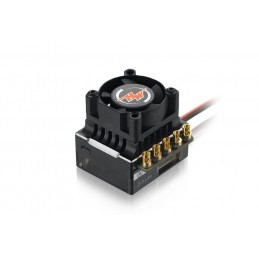 Hobbywing XeRun XR10 Justock Sensored Brushless ESC (Black)