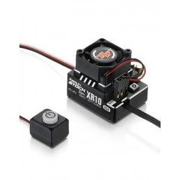 Hobbywing XeRun XR10 STOCK SPEC Sensored Brushless ESC (Black)