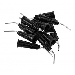 1up Racing HD Curved Steel Glue Tips - Medium-Thick Glue