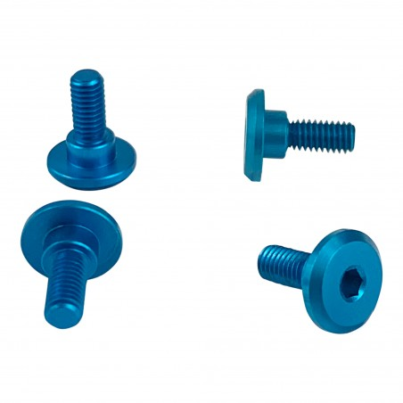 1up Racing Servo Mounting Screws - Bright Blue