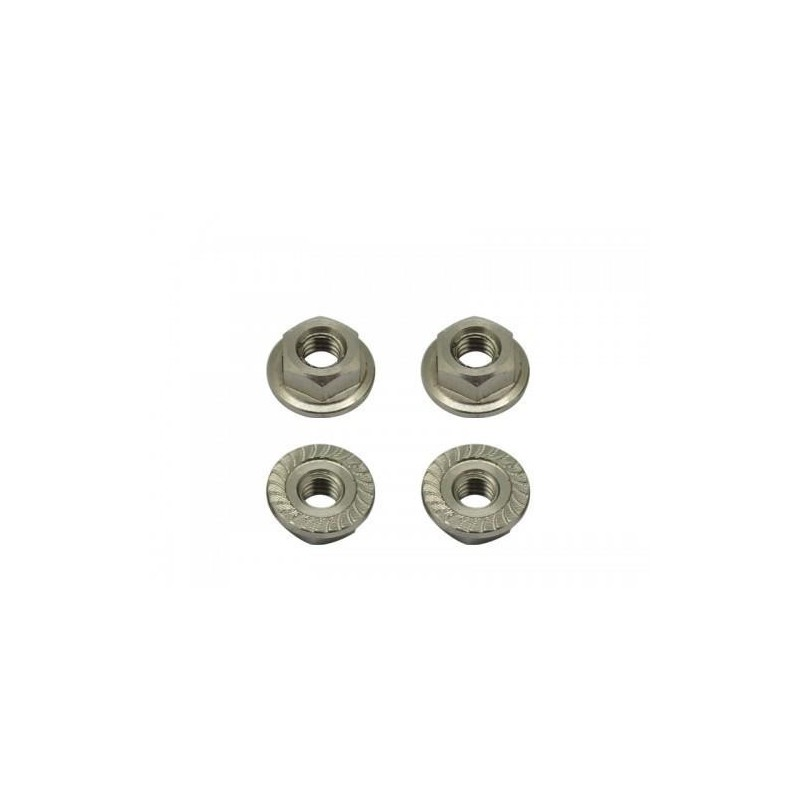 Arrowmax Titanium Wheel Nuts M4 (4pcs)