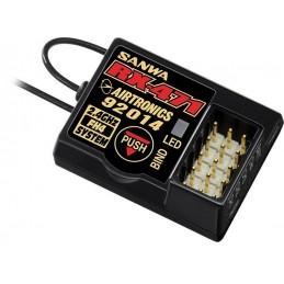Sanwa RX-471 Receiver (2.4 GHz, FHSS-4, FHSS-3/SSR, 4-Channel)