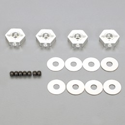 Hex Wheel Hub Offset -0.75mm Set with Shims R109046