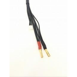 Cavo per lipo 2S da 30cm con connettori da 4mm