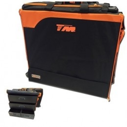 TM Touring Car Bag 2015 - borsa trolley x automodelli touring 1/10 con cassetti in plastica
