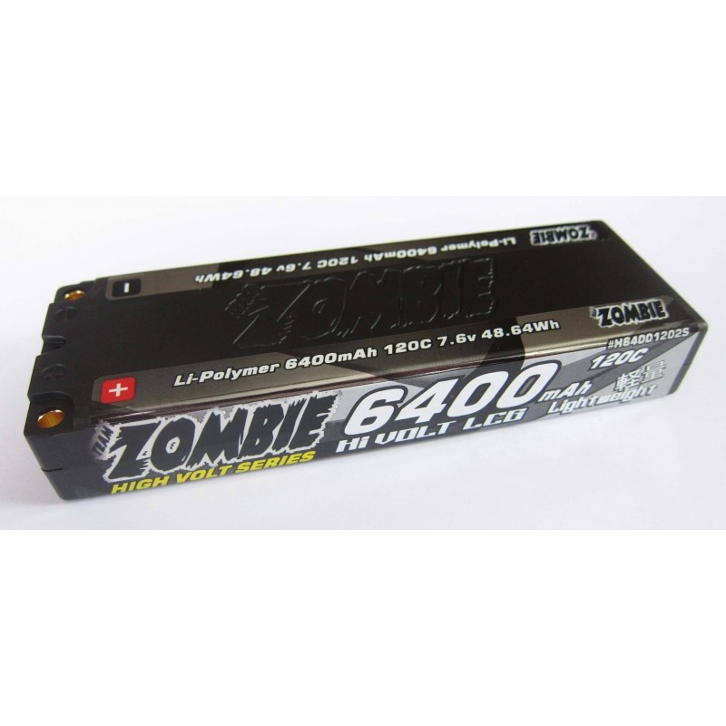 Team Zombie 6400mah 120c HW LCG 7.6Volt Lipo