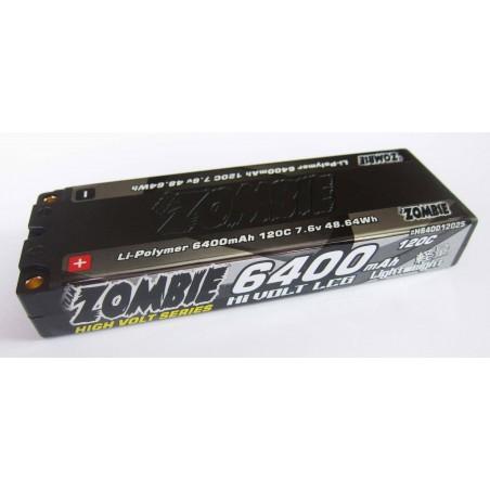 Team Zombie 6400mah 120c HV LCG 7.6V Lipo