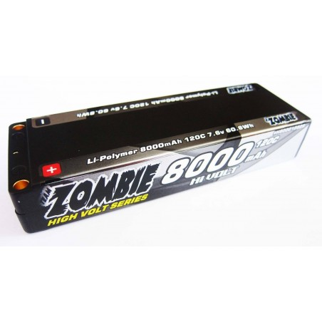 Team Zombie 8000mah 120c HV LCG 7.6V Lipo