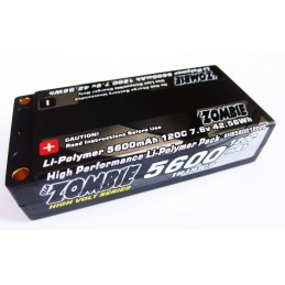 Team Zombie 5600mah  shorty 120c HV LCG 7.6V Lipo