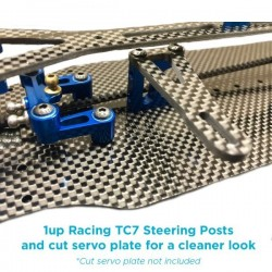 1UP RACING TC7 STEERING POSTS