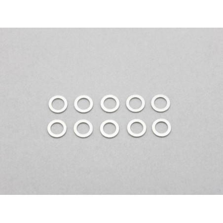 3.1x5.0x0.1mm Stainless Shim (10pcs)