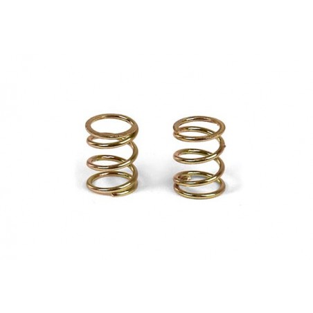 XRAY 372180 - FRONT COIL SPRING 3.6x6x0.5MM C3.5 - GOLD (2)