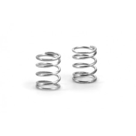 XRAY 372177 - X1 Optional Front Springs - silver - soft C2.0 (2 pcs)