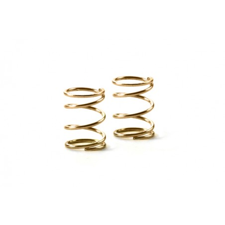 XRAY 372176 - FRONT COIL SPRING C1.5 - GOLD (2) SUPERSOFT