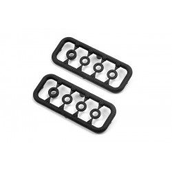 XRAY 303129 - COMPOSITE SET OF SHIMS 3x 3x6x1MM and 1x 3x6x2MM (2)