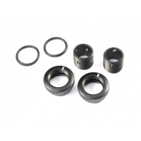 RADTEC Aluminum Body Height Fine Adjustment Set Black