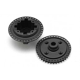 BD9 Pulley 38T/Diff Case