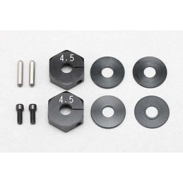 BD8/BD7 4.5mm Clamp Wheel Hub with 0.5/1.0mm Spacer