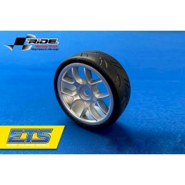 Ride 1/10 Belted Tires 24mm...