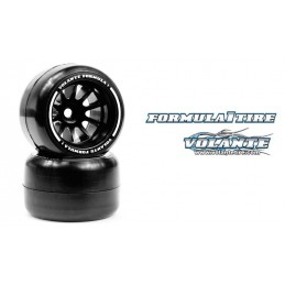 Volante F1 Rear Rubber Slick Tires Asphalt Soft Compound Preglued