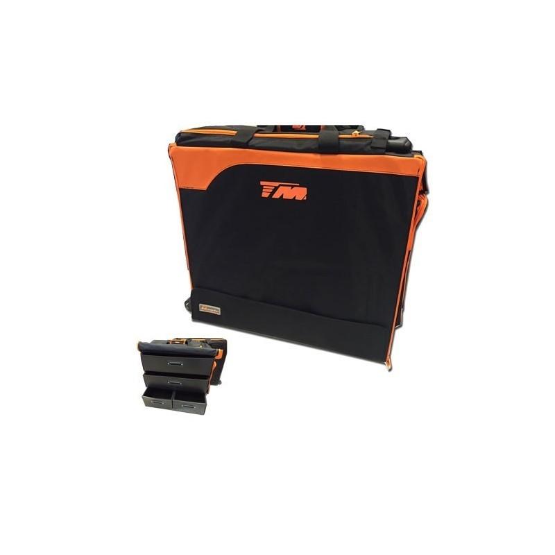 TM Touring Car Bag 2015 - borsa trolley x automodelli touring 1/10 con cassetti in plastica