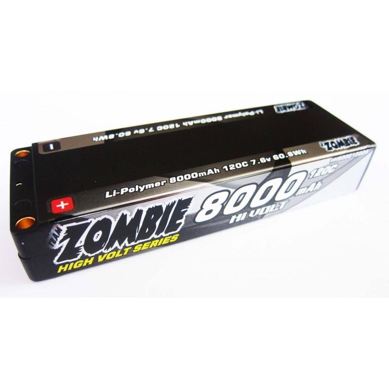 Team Zombie 8000mah 120c HW LCG 7.6Volt Lipo
